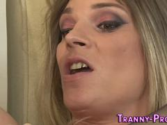 Tranny hos mouth cummed