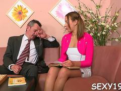 wild drilling with mature tutor feature video 2