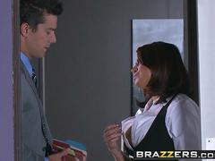 Brazzers - Big Tits at Work - Eva Angelina Ramon - Camera Cums In Handy