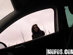 Mofos - Stranded Teens - Gina Devine - Give Me a Ride Ill Give You One Too
