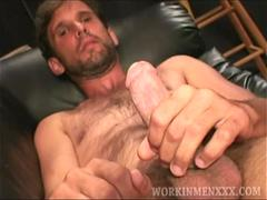 Mature Amateur Jeff Jerks Off