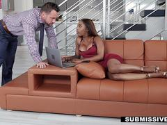 Submissived - Hot Gal Punished Fucked By Huge Cock