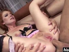 Tobi Pacific enjoys double anal penetration