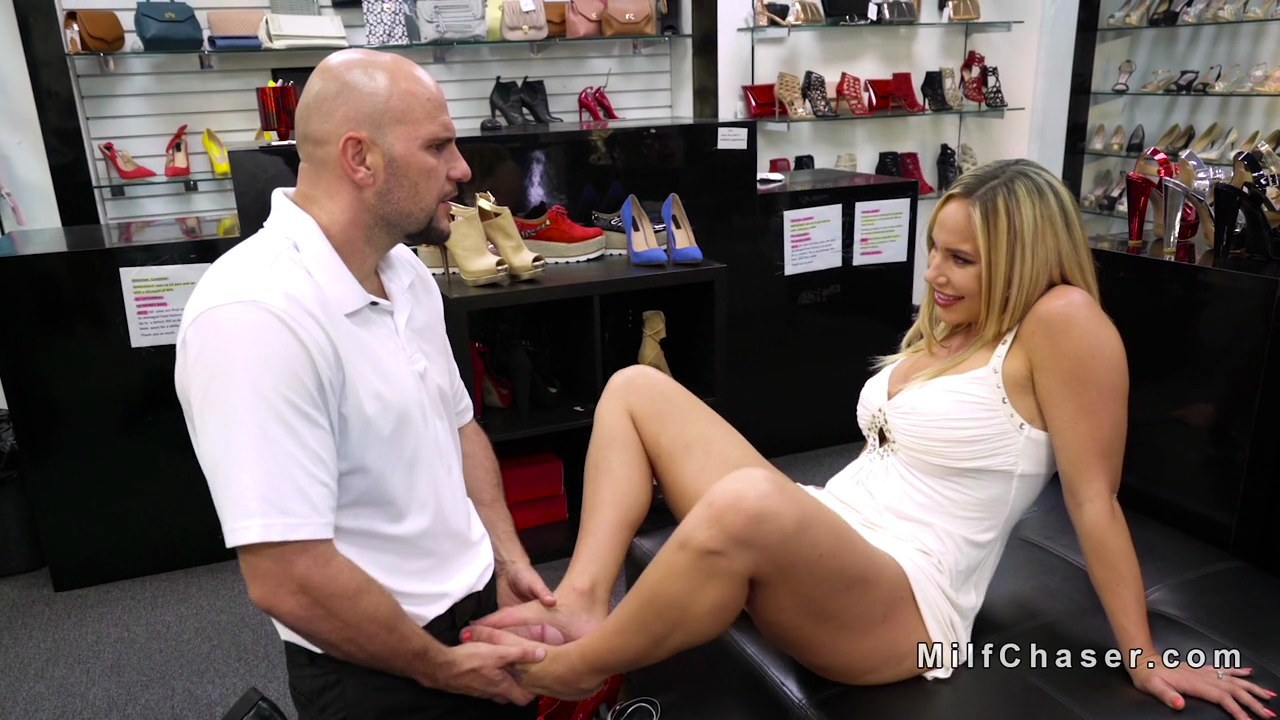 Tickling feet hot blond