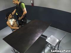 real latina fucked by immigration officer video