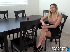 PropertySex Conniving Agent Aubrey Sinclair Fucks Boss