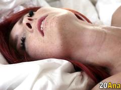 Redheads sweet ass jizzed