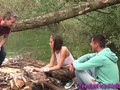 Dutch 3way teen spunked