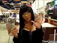 Pattaya Teen Ladyboy Princess!