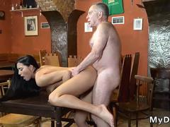 Old german mature anal Can you trust your gf leaving her alone with your father