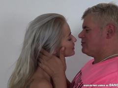 Pervert Dan and Cherry Kiss love brutal fuck