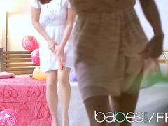 Babes - BABES LOVES BACHELORETTES featuring Blue Angel Clea Gaultier