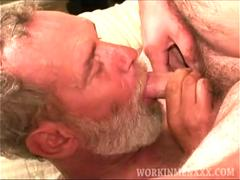 Mature Amateurs Paul and Bill Sucking