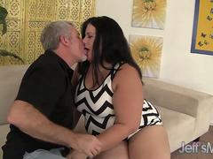 Fat Strumpet Becki Butterfly Takes a Thick Cock Deep in Her Mouth and Quim