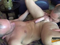Rimmed amateur raw fucked