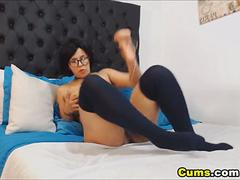 Huge Tits Chick Rides Her Dildo