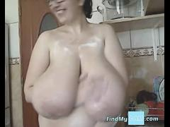 the romanian bbw-goddess - alicia in kitchen movie