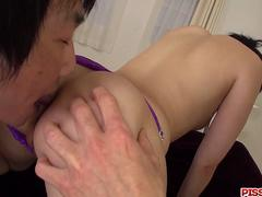 Arisa Nakano tries toys down her shaved love holes - More at Pissjp.com
