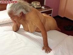 HelloGrannY Hairy Latina Pussies Captured