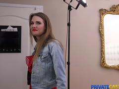 Private Casting-X - Ashley Lane - Amazing fuck at fake audition