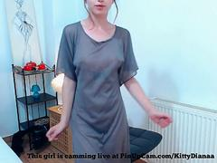 see through little dress.... teen