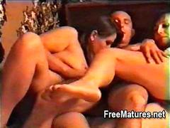 Mature housewives in swingers orgy