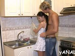 chick experiences backside fuck teen film 7
