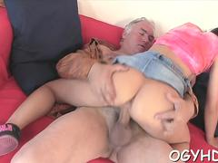 babe licked by an old guy