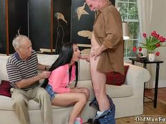 Brunette amateur wife threesome and british chubby gangbang Dukke the Philanthropist