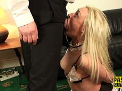 Ass pinched submissive