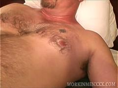 Mature Amateur Buck Jerking Off