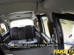 Fake Taxi Horny hot and heavy taxi threesome with great rimming