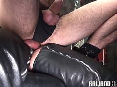 Hairy bear cocksucked and deepthroated