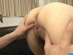 Honami Uehara deals younger cock inside her puffy twat - More at javhd.net