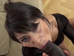 Hard interracial fuck for horny milf with nice pussy