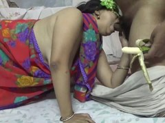 Indian Doggystyled Hot Blowjob By Velamma