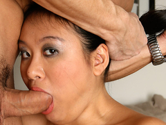 Asian kiwi ling fucked and cums video
