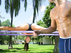 TeamSkeet - Sexy Teen Fucks Stranger After Workout