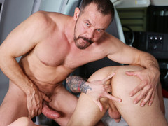 Marxel Rios blows a big thick cock
