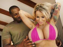 Busty Stepmom Danielle Derek Gets Fucked By Stepsons Black Friends